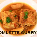 OMELETTE CURRY - Spicy Curried Egg Omlette